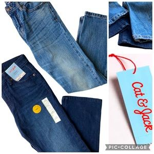 NWT CAT & JACK Bundle of 2 Pairs of Jeans